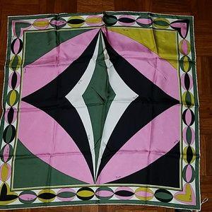 Emilio Pucci Authentic Silk Scarf